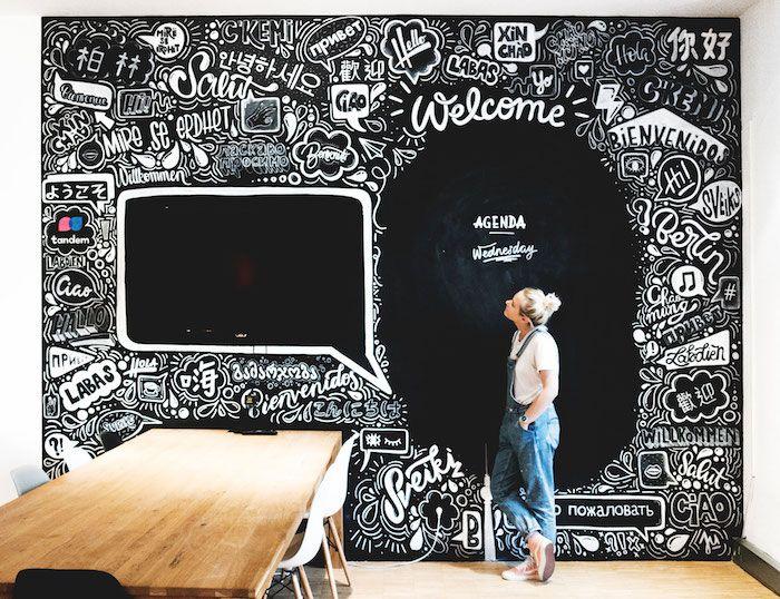▷ 1001 + idées comment adopter la peinture ardoise dans nos intérieurs - comment peindre une chaise