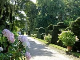 French gardens - Google Search