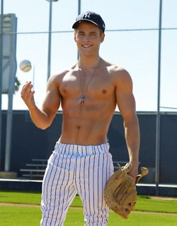 Sexy male baseball players picture 891