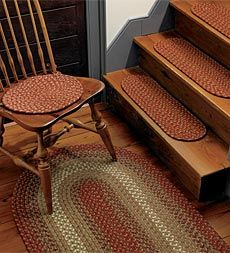Best Braided Rug Stair Treads For The Family In 2019 Stair 640 x 480