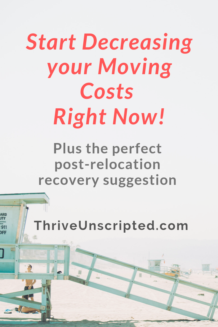 Decluttering Before Relocation Thrive Unscripted Thrive Unscripted Relocation Blog Moving Tips Relocation Moving To Another State