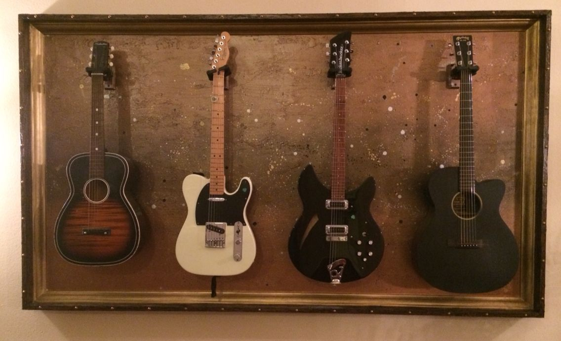 custom guitar display cases guitar display case shadow box guitar display. Black Bedroom Furniture Sets. Home Design Ideas