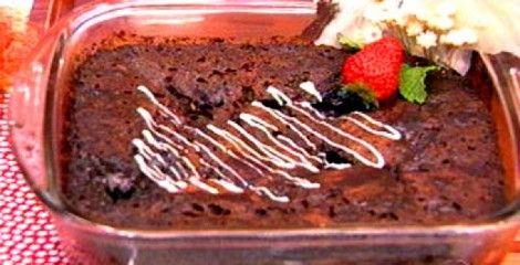 Bolo Pudim De Chocolate Receitas Ana Maria Braga Dessert