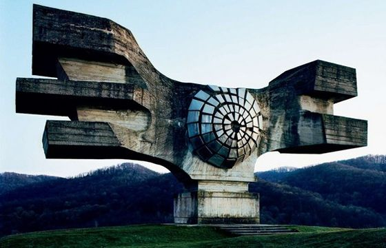 Juxtapoz Magazine - Forgotten and Abandoned Monuments in Former Yugoslavia