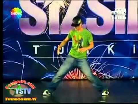 AMAZING POPPIN ELECTRO DUBSTEP DANCE - Turkey's Got Talent