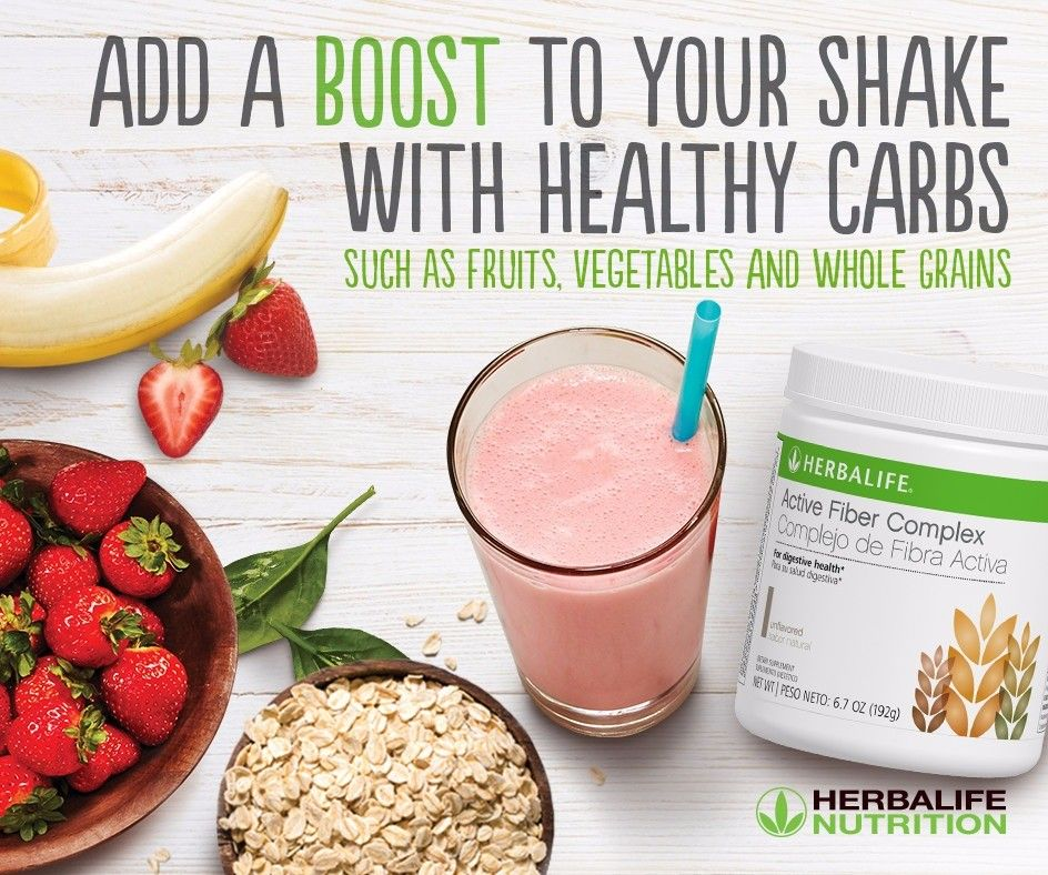 Product Of The Week Active Fiber Complex Comes Unflavored Or Apple Flavor Add This To Your Shake Or Even Your Tea Healthy Carbs Herbalife Nutrition Recipes