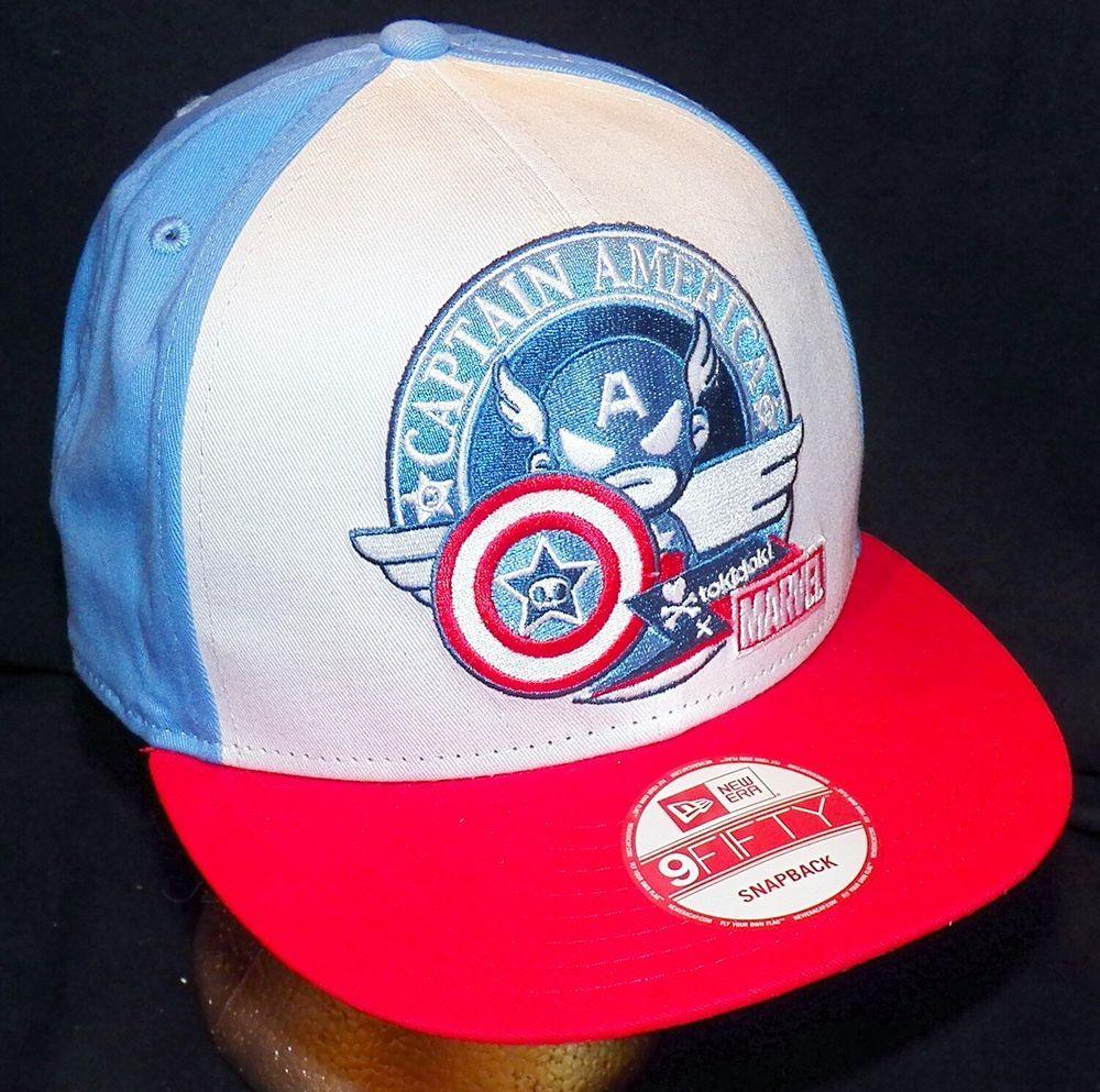 6f360e16a45 Tokidoki Marvel Comics Captain America New Era 9FIFTY Disney Store Baseball  Hat  NewEra  Tokidoki