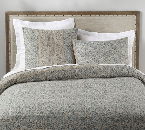 Larsa Kalamkari Cotton Duvet Cover Amp Shams Bed Linens