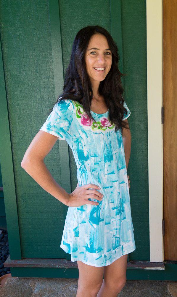 Resort Wear - Plus size Dress - Hawaiian Dress - Summer Beach Dress ...