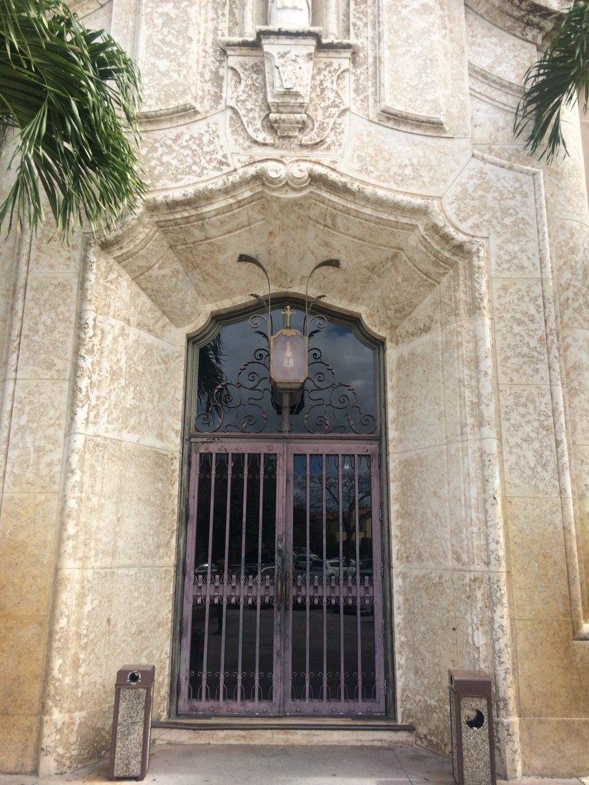 Church of the little flower. Coral Gables