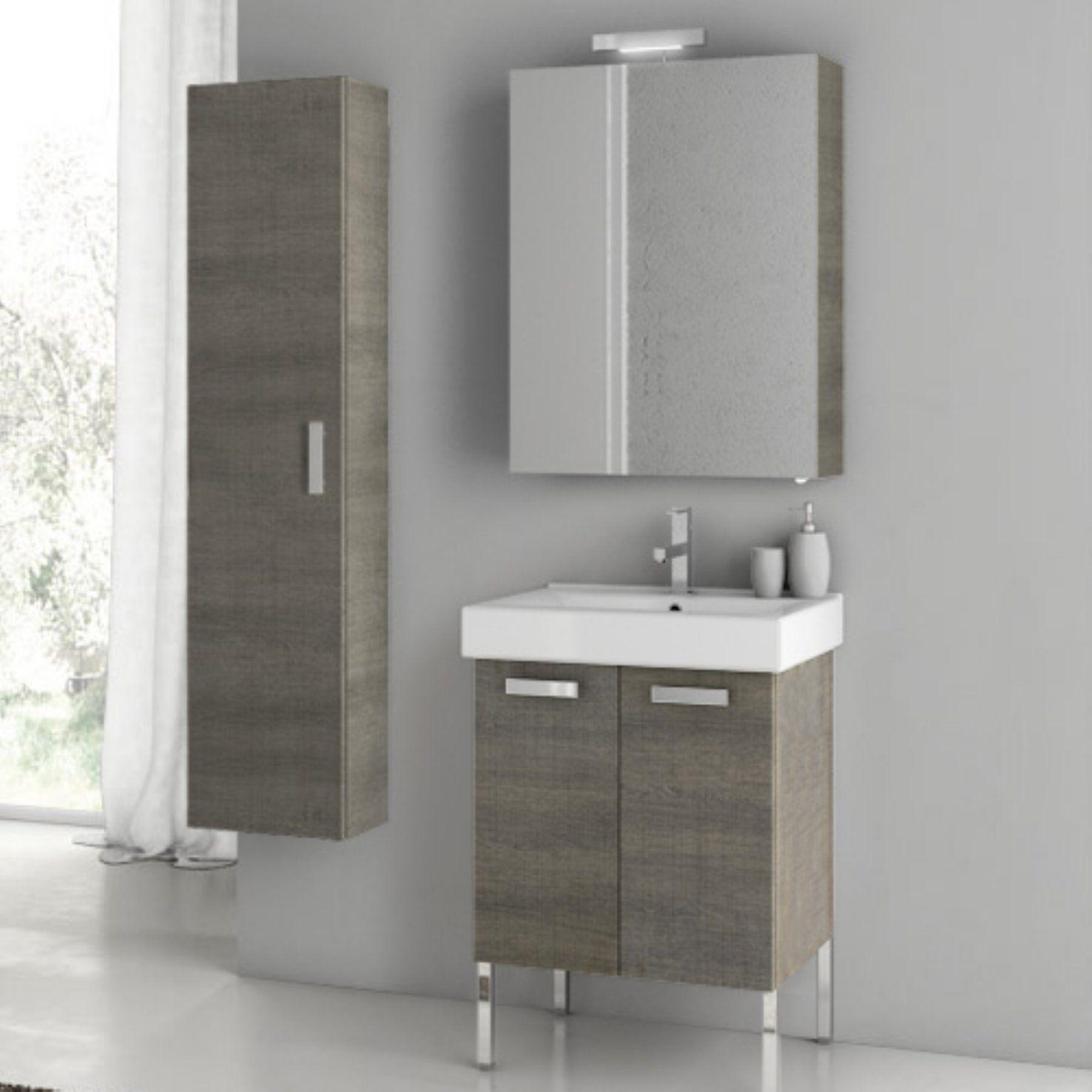 Acf By Nameeks Acf C12 Go Cubical 22 In Single Bathroom Vanity