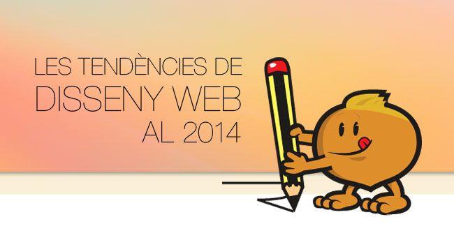Les tendències de #dissenyweb al 2014 #creativitat #marquetingonline