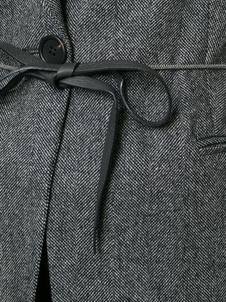 Brunello Cucinelli blazer con cierre con lazo