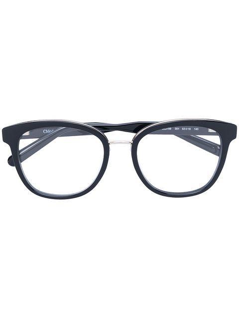 3eb4bb539914 CHLOE EYEWEAR square frame glasses.  chloeeyewear