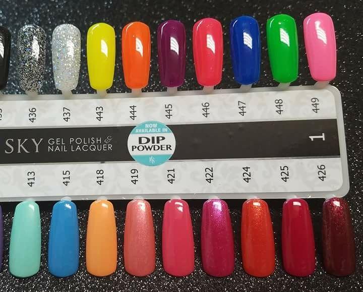 Pin By Casie Jones On Nail Colors Kiara Sky Sky Nails Nail Colors Dipped Nails
