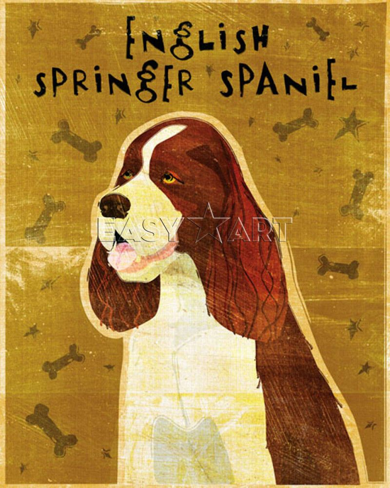 English Springer Spaniel, John Golden Prints from Easyart.com. Gift ...