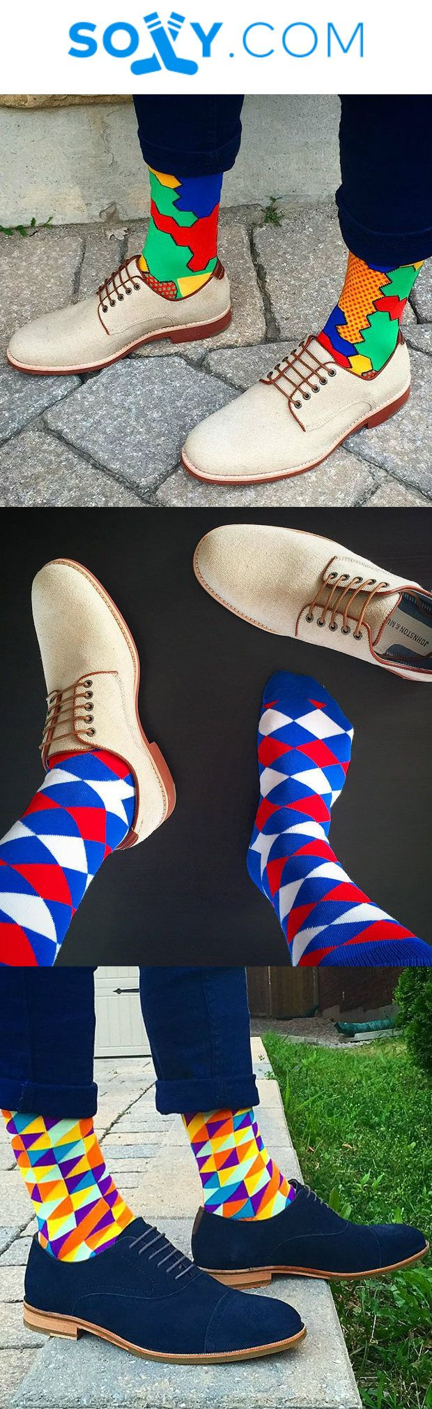 The perfect gift for a man who loves fun socks. With thousands of members…