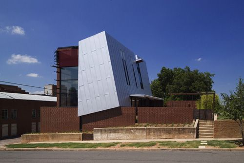 Architecture Design OKasian House by Fitzsimmons Architects in Oklahoma City