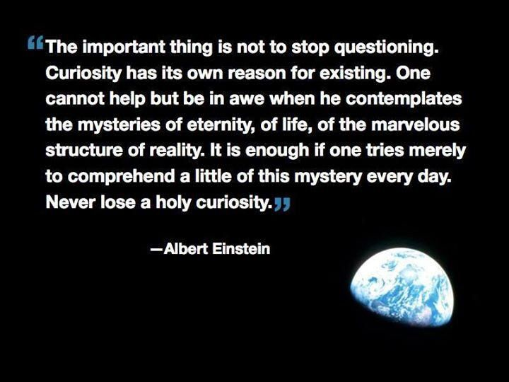 Never Lose A Holy Curiosity Einstein Quotes Quotes About Moving On Quotes