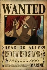 One Piece Whitebeard Crew Bounty