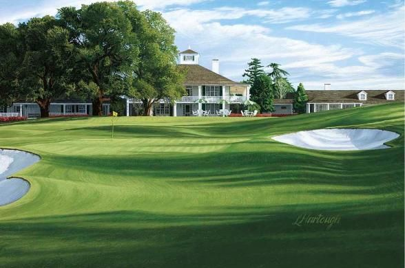 Google Image Result For Http Golfpicture Com Images 18th 2520hole 2520 27holly 27 2520augusta 25 Golf Courses Public Golf Courses Augusta National Golf Club