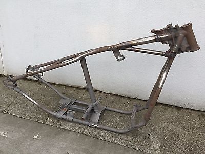 Original Harley Panhead Wishbone frame 1950-1952 OEM | Harley panhead