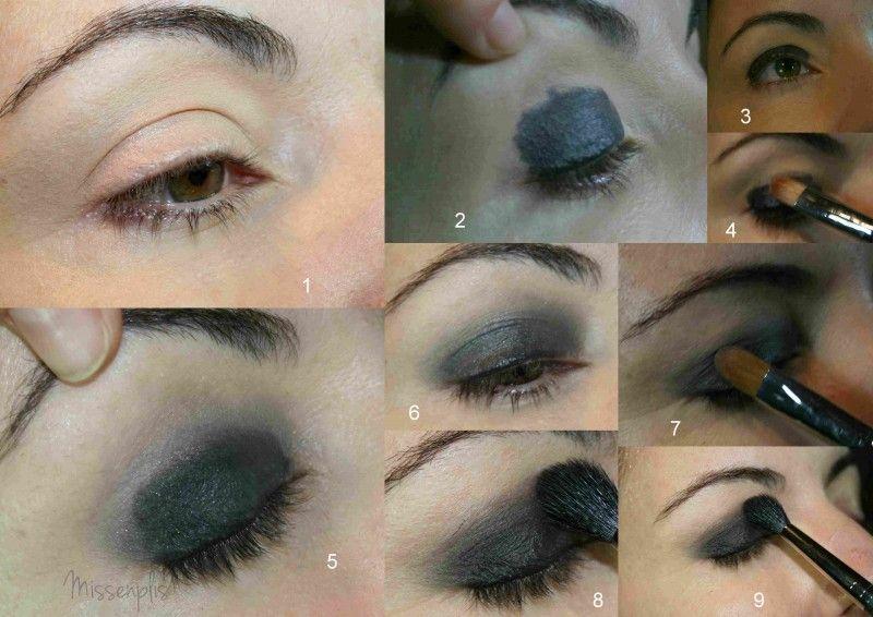 como maquillar un ojo ahumado paso a paso - Buscar con Google