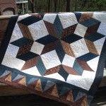Carpenter star, free pattern