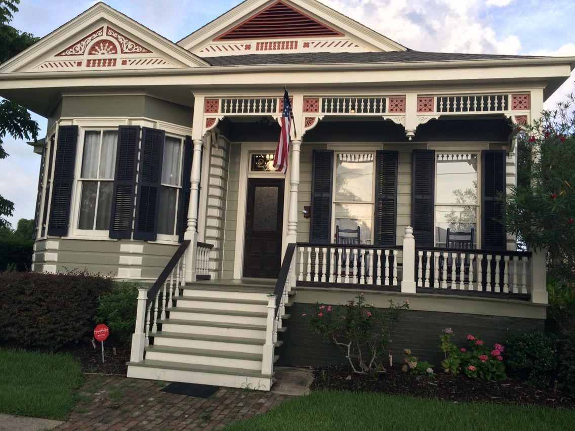 New Orleans paint inspiration- love these colors for exterior!