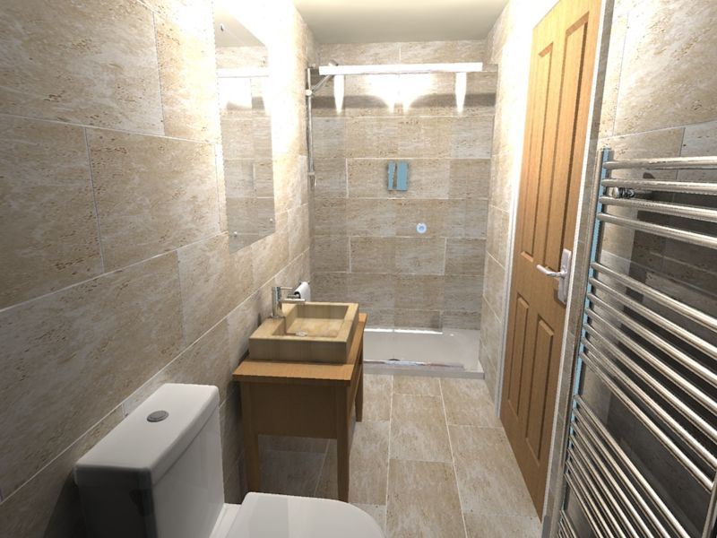 En suite bathroom alexander sancto product gallery for Modern small ensuite