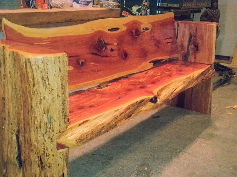 Biggest Cedar Bench Iu0027ve Made To ...