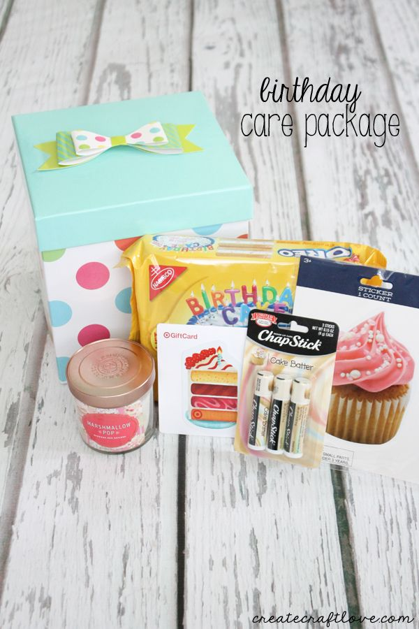 Birthday Care Package Pinterest Best Birthday Care