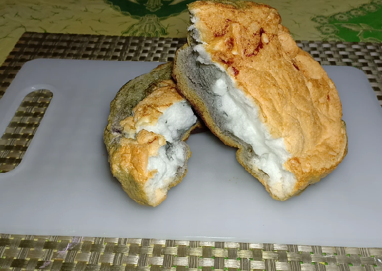 Resep Rahasia Cloud Bread Roti Kapas 3 Bahan Resep Cloud Bread Roti Adonan