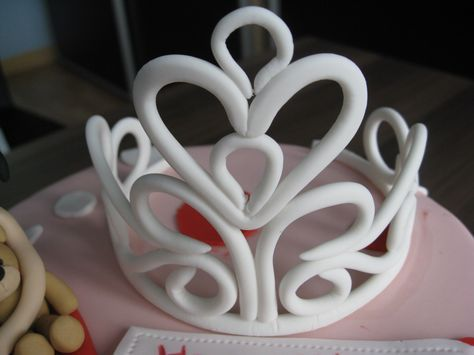 Fondant Princess Crown Template | Figurines | Pinterest | Crown template