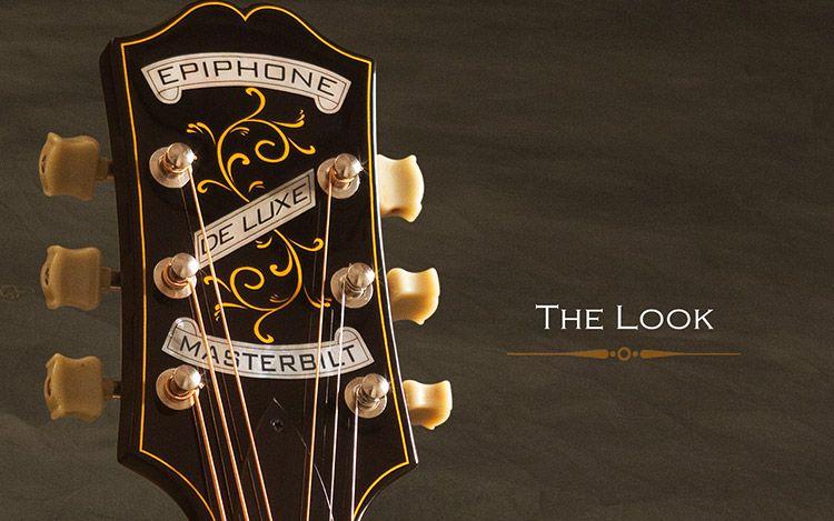 New Epiphone Masterbilt Headstock Acoustic Guitar Epiphone Guitar