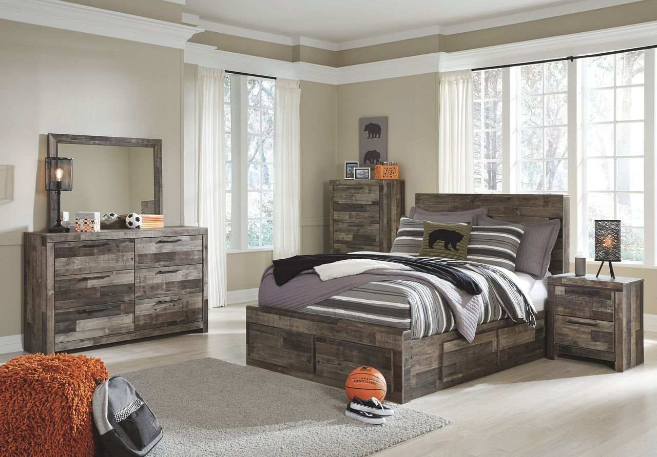 Excellent Derekson Multi Gray Full Storage Bed In 2019 Kids Beds Home Interior And Landscaping Ologienasavecom