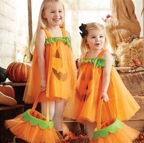 Tulle Pumpkin Dress from Mud Pie. Pre-order this week only for Halloween! Sooooo cute.  #halloween #pumpkin #trickortreat