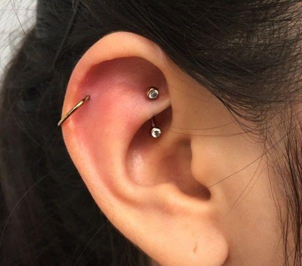rook piercing (95)   Piercings   Pinterest