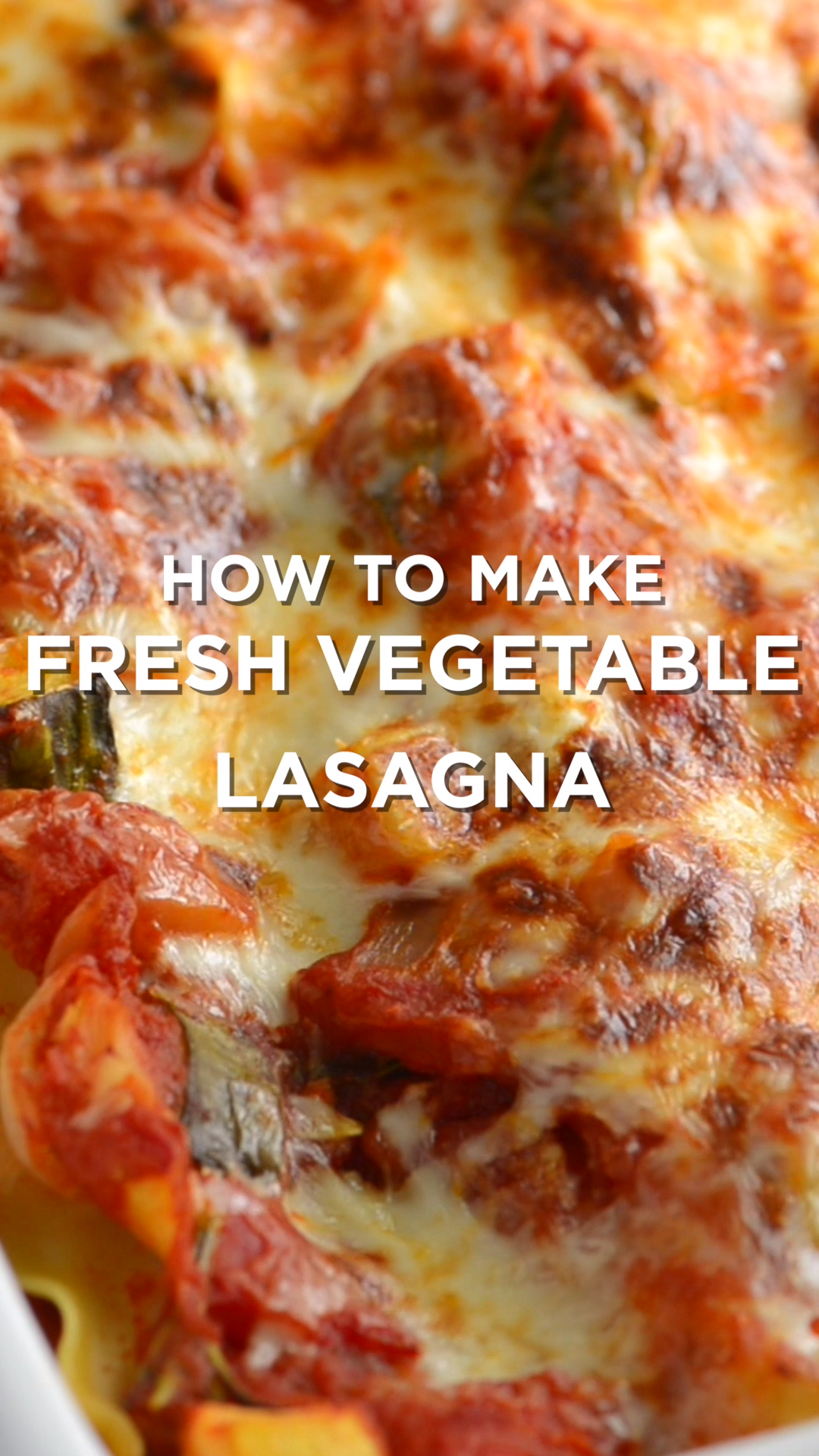 Easy Vegetable Lasagna Recipe This vegetable lasagna is a reader favorite! Tender vegetables, a light tomato sauce, and lots of cheese make this the best vegetable lasagna recipe, ever.