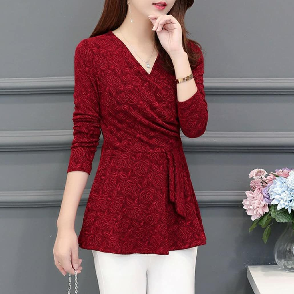 V-Neck Blouse - DM2016 • Colour: Red / Black / Green / Purple Size: L, XL, 2XL, 3XL, 4XL, 5XL • Price: BND 30 • ETA: 7-14 days • NOTE: WA me to check for availability. - - - #brunei #bruneionlineshop #bruneishop #bruneionline  #women #clothes #apparel #fashion #style #clothing #ootd #outfitoftheday #love #outfit #shopping #like #instafashion #model #beauty #trendy #dress #dresses #tops #shop #follow #onlineshopping #womensfashion #clothesforsale #instasale #instashop