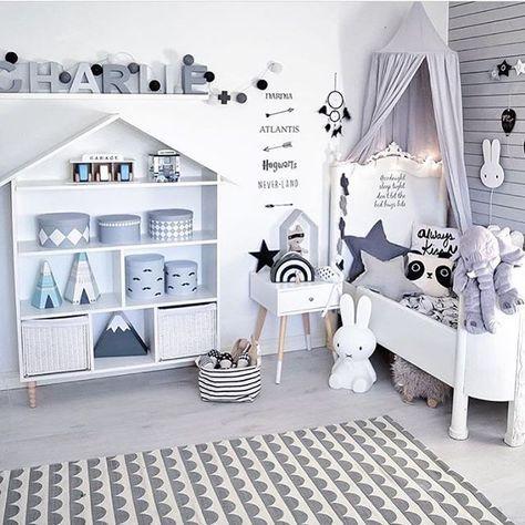 Chambre grise et blanche Maison Pinterest Gender neutral