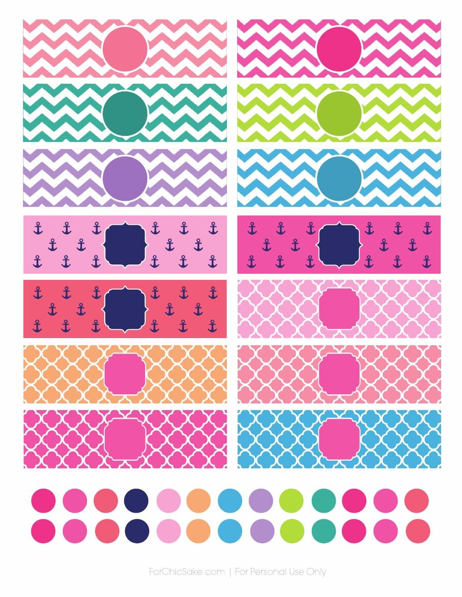 Printable iPhone Charger Wraps and Home Button Stickers by For Chic ...