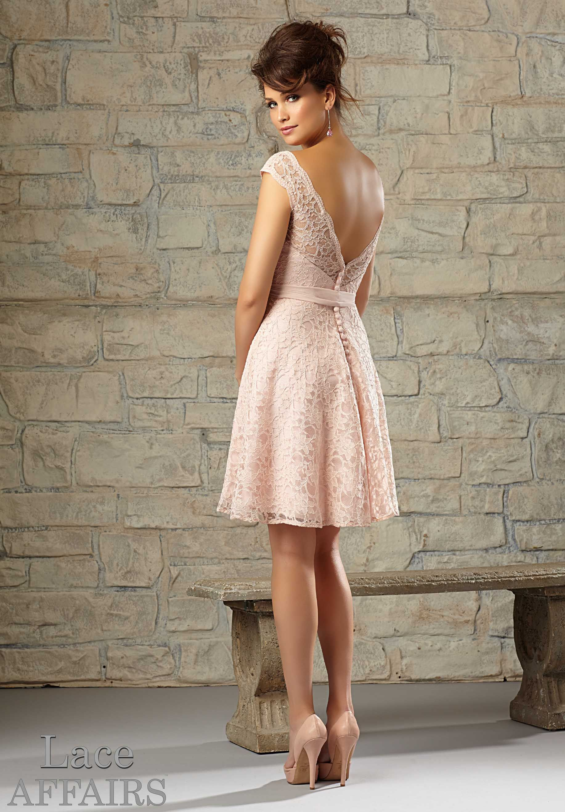 Dress Mori Lee LACE AFFAIRS SPRING Collection Lace