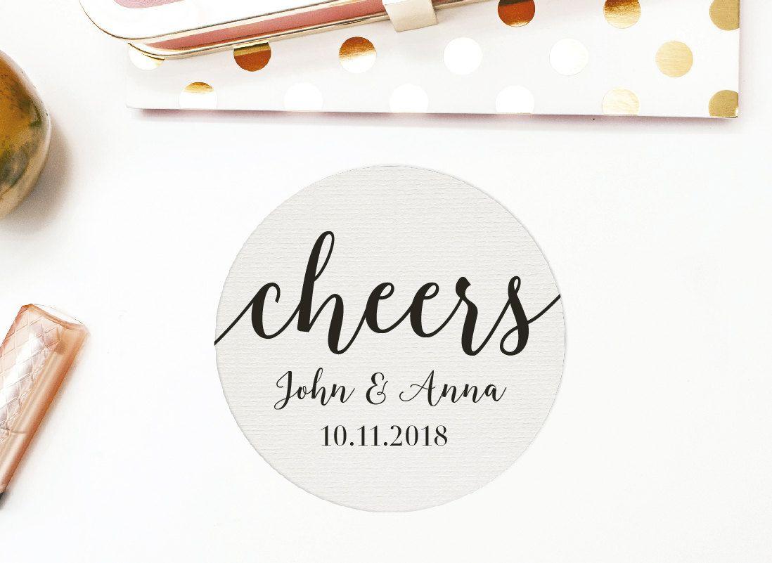 Personalized Coasters, custom coasters, Drink Coasters, wedding ...