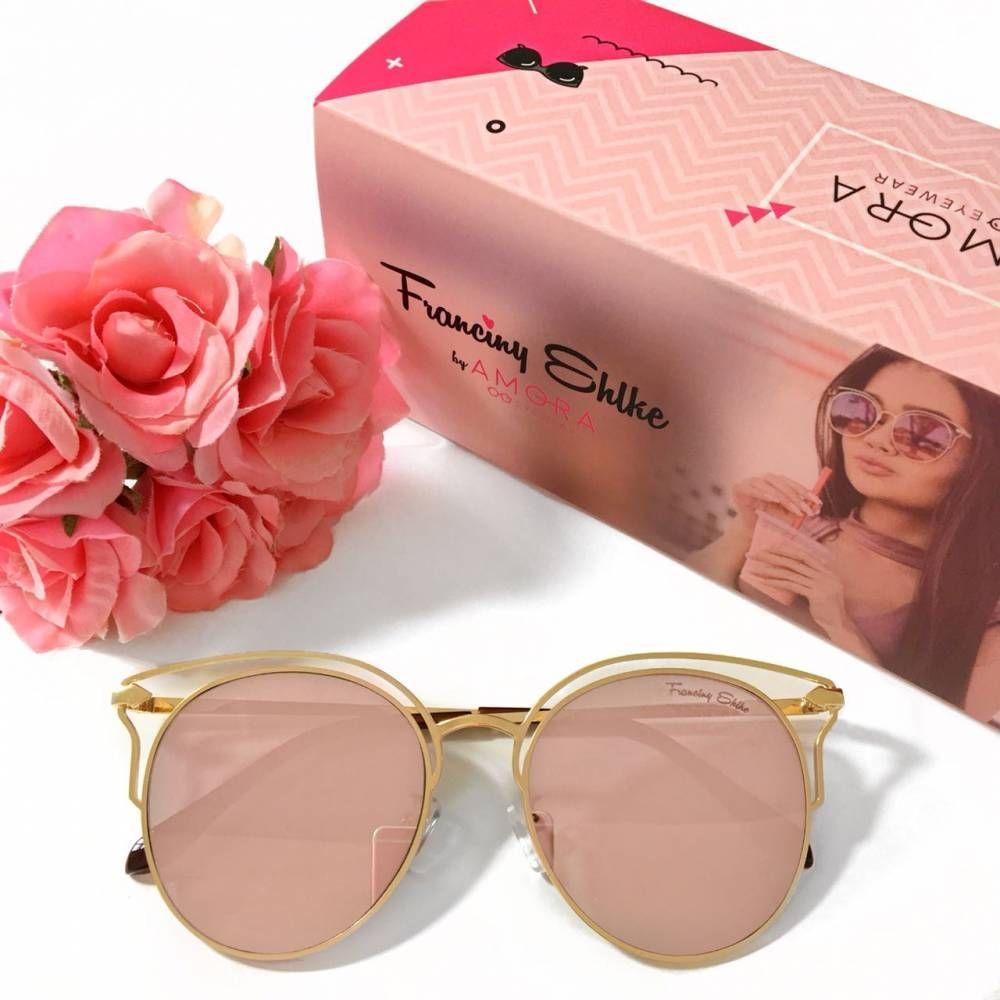 25b97b002 Óculos Franciny Ehlke | Califórnia Rose | Inspiração | Óculos ...