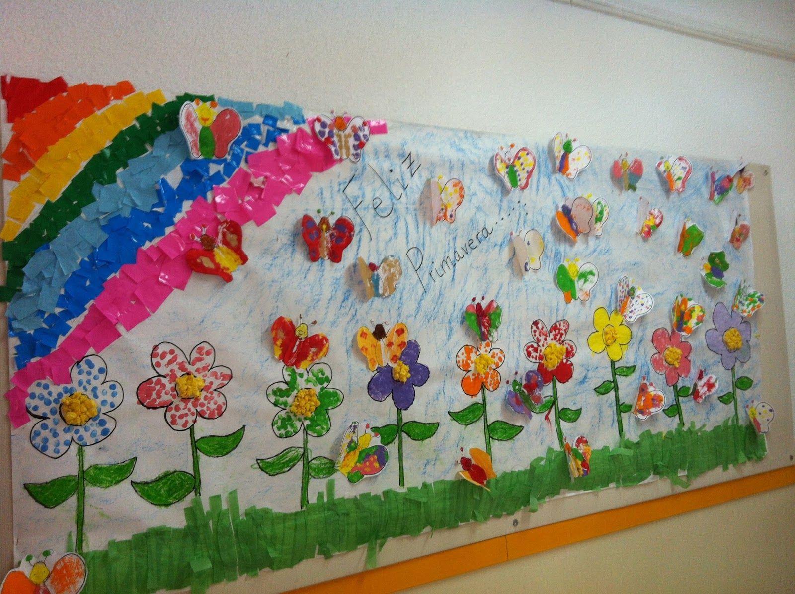 Murales primavera (3 | Primavera, Murales y Actividades