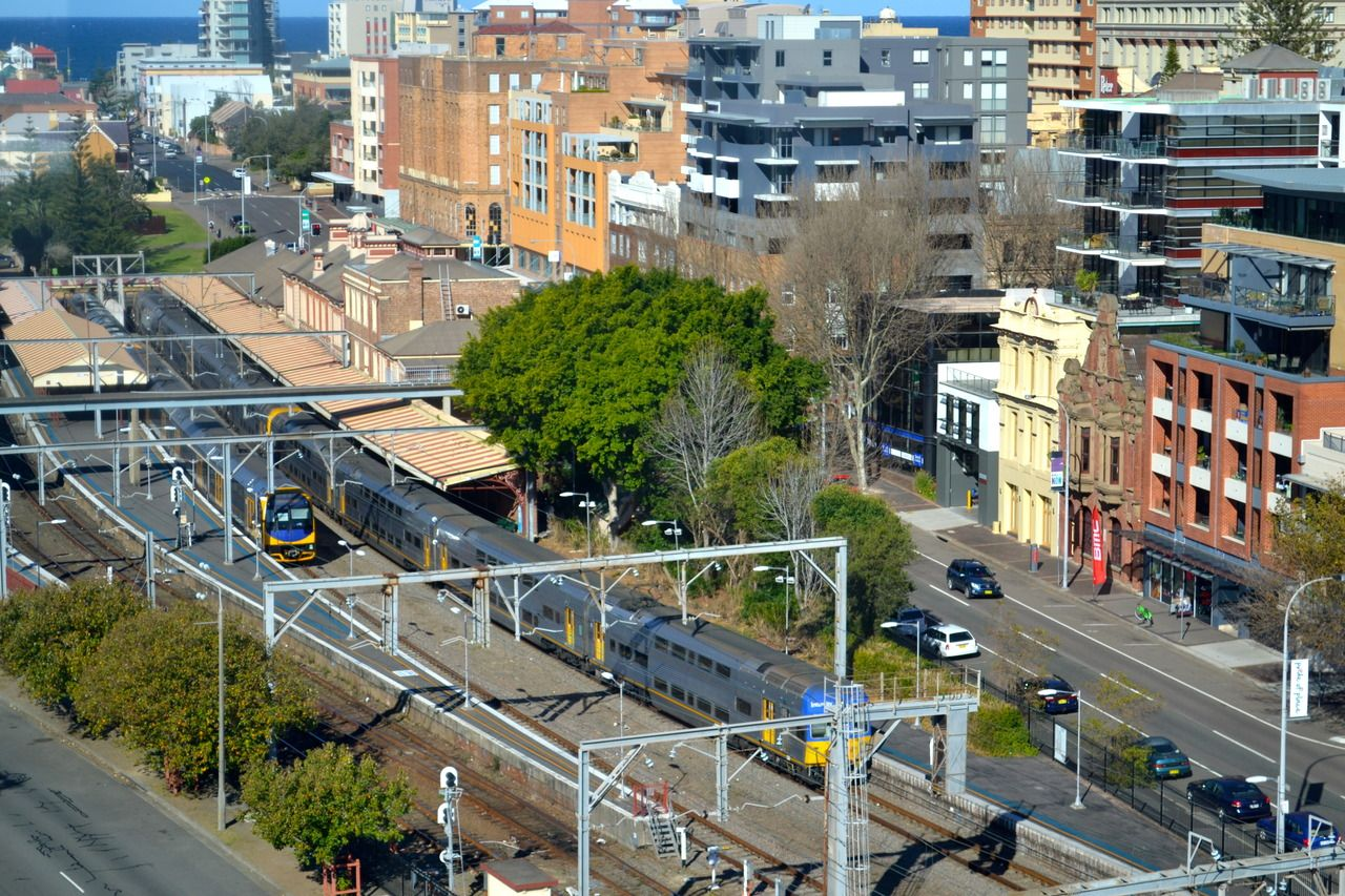 Newcastle train station downtown newcastle nsw terra newcastle train station downtown newcastle geenschuldenfo Choice Image