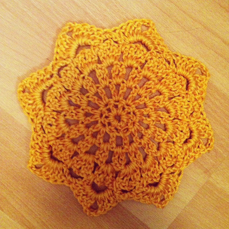 Japanese doily Crochet applique/ motif Pinterest