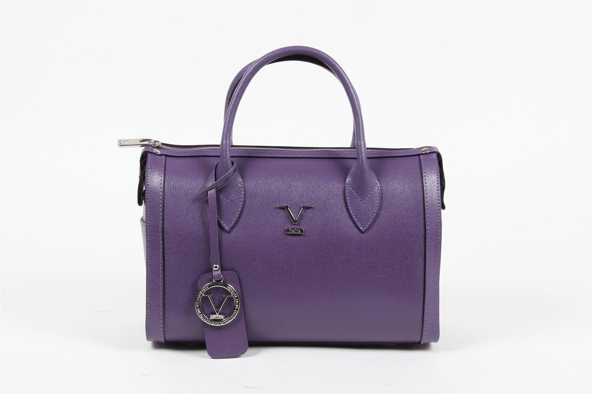 Versace 19.69 Abbigliamento Sportivo Srl Milano Italia Womens Handbag V014  S PURPLE 90b2e4019bee4