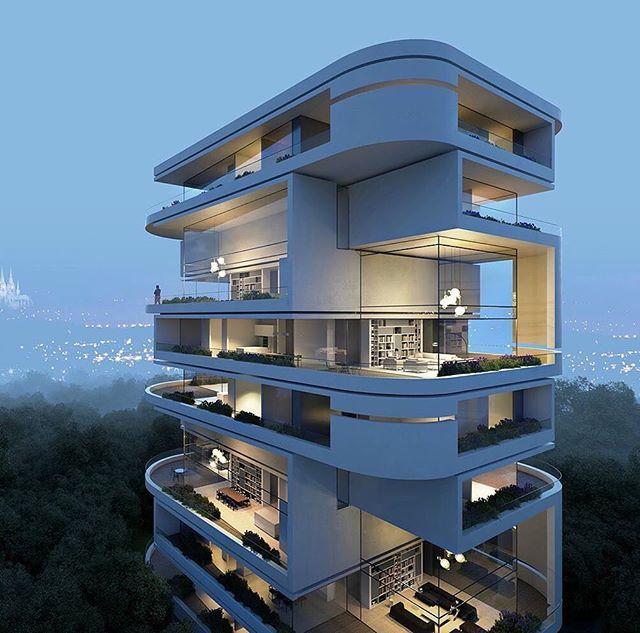Luxury Residence By Dallas Design: Köln Rhodenkirchen Luxury Residence Building 1. Preis By